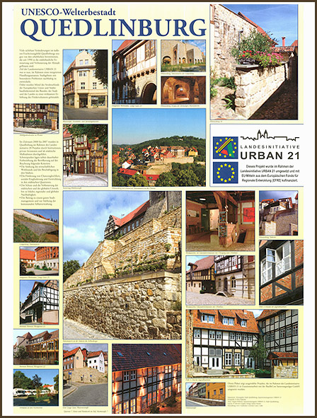 Quedlinburg City Poster