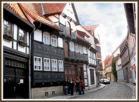 Quedlinburg Center on Hohe Strasse